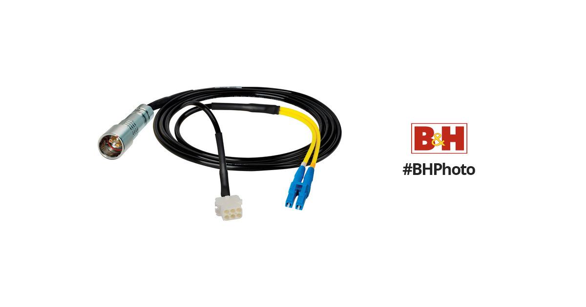 Camplex 25' Lemo PUW to Duplex LC Fiber & HF-PUWLC8-BO-025