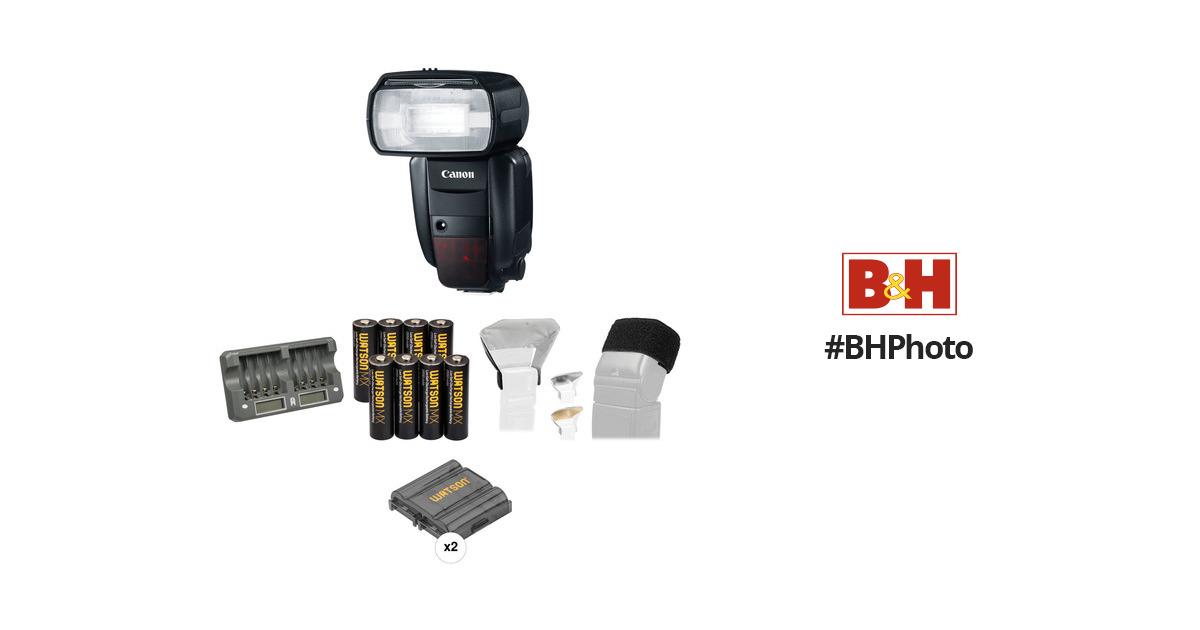 Canon Speedlite 600EX-RT Essential Portrait Kit B&H Photo