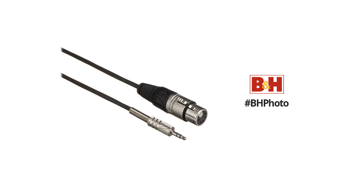 Rode NT4-MJ Stereo 5-Pin XLR to Stereo 3.5mm Output Cable
