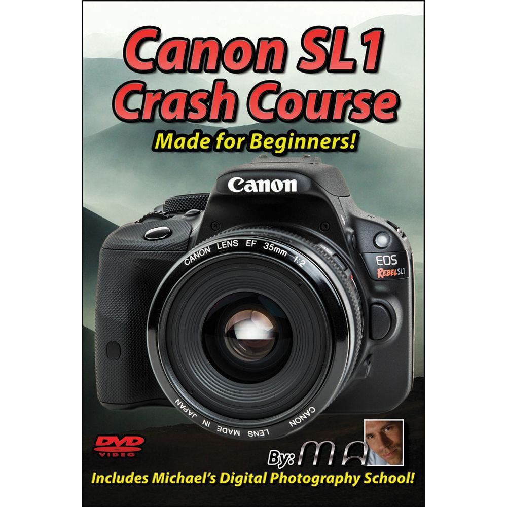 Michael the Maven DVD: Canon EOS Rebel SL1 DSLR Camera MTM-SL1
