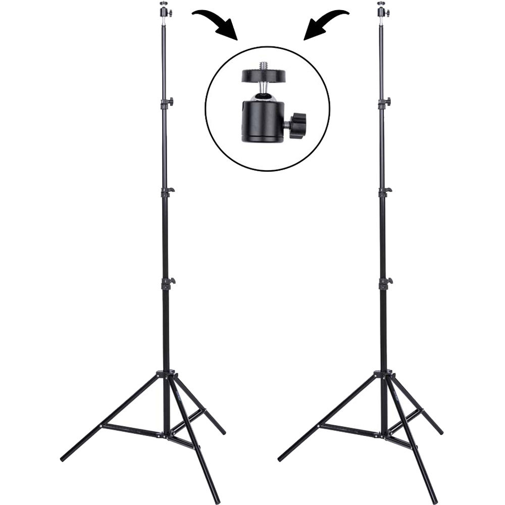 hight resolution of light stand diagram