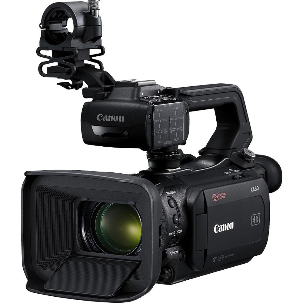 Canon Xa50 Uhd 4K30 Camcorder With Dual-Pixel Autofocus 3669C002