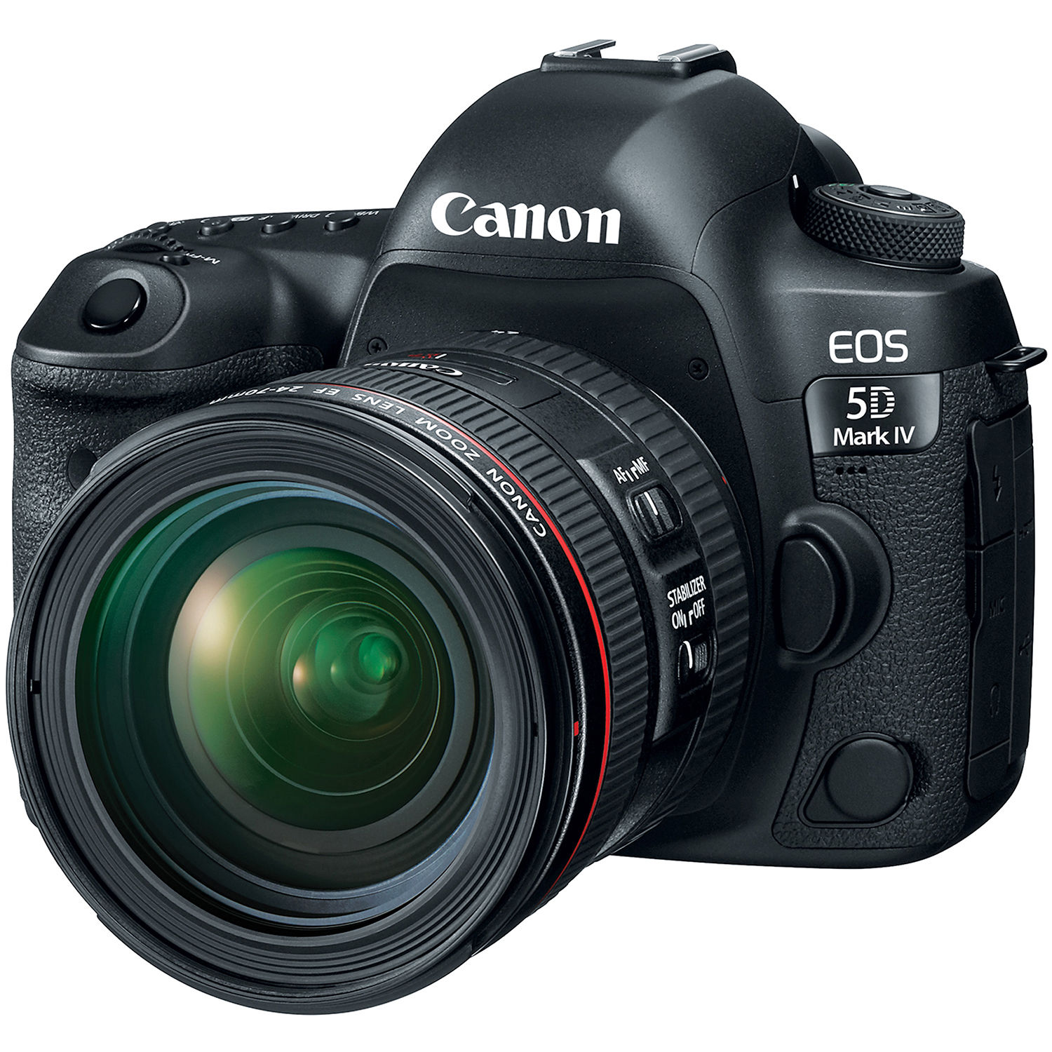 Canon EOS 5D Mark IV DSLR Camera with 24-70mm f/4L Lens 1483C018