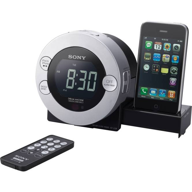 Sony Icf C7ip Clock Radio For Ipod And
