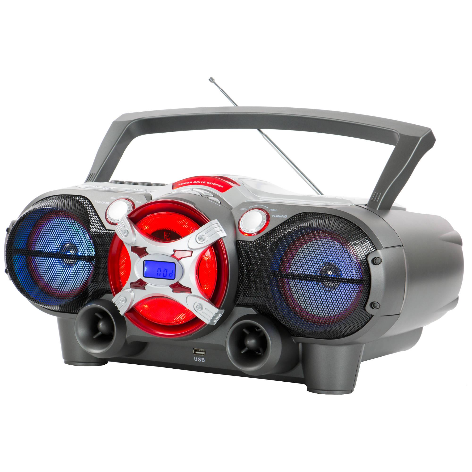 qfx bluetooth jumbo boombox