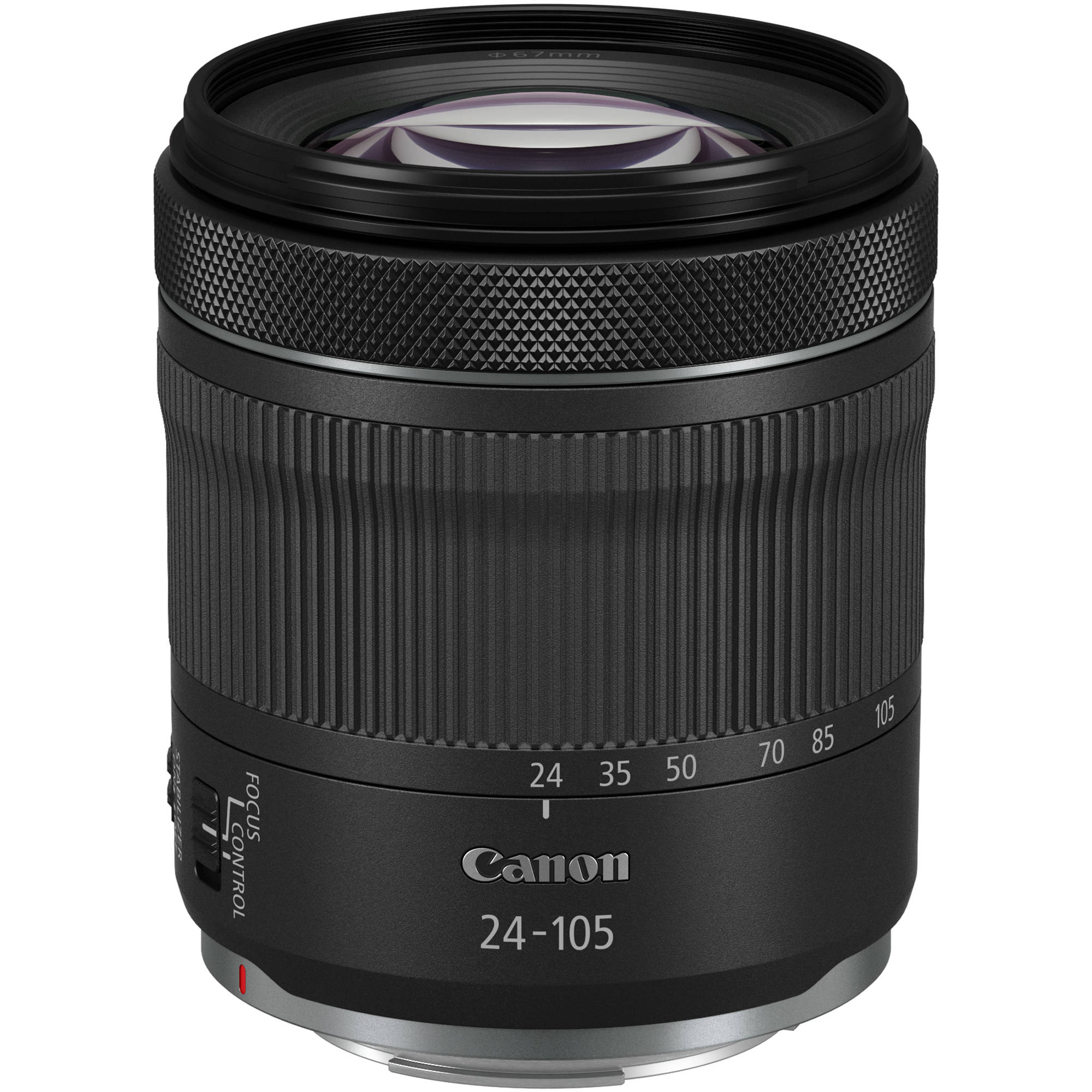 Canon RF 24-105mm f/4-7.1 IS STM Lens 4111C002 B&H Photo Video