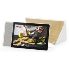 Kitchen Speakers Farmhouse Industrial B H Photo Lenovo 10 1 Smart Display White And Bamboo