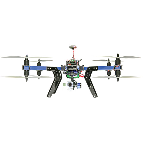 3DR X8-M Octocopter for Visual-Spectrum Aerial Maps