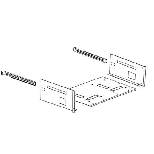FEC RK101G Dual Rackmount Kit for JVC TM-A101G Monitor RK101G
