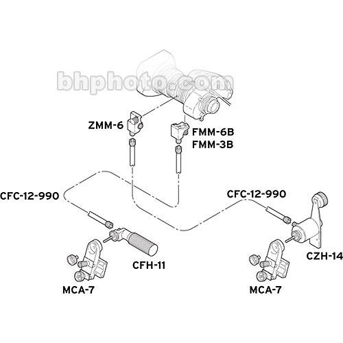 Fujinon MM11 Manual Zoom/Focus Control Kit MM-11 B&H Photo
