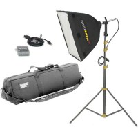 Lowel Rifa-Lite EX55 Softbox Light Kit, LB40 Soft Case LC ...
