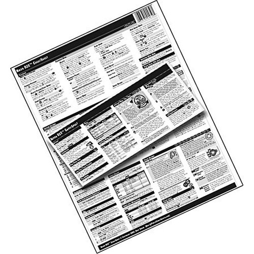PhotoBert CheatSheet for Adobe Photoshop Elements V.5 6C76-06