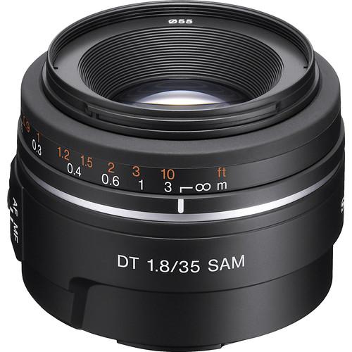 Sony DT 35mm f/1.8 SAM Lens SAL35F18 B&H Photo Video