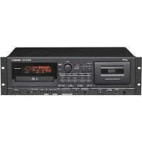 Tascam CD-A750 Rackmount CD Player/Cassette Recorder CD ...
