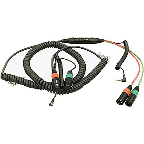 Ambient Recording Dual 3-Pin XLR-F + TRS Mini Plug
