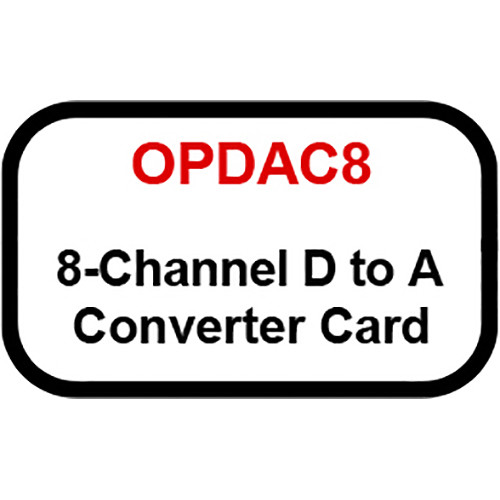 Ashly 8-Channel Digital to Analog Converter Option Card