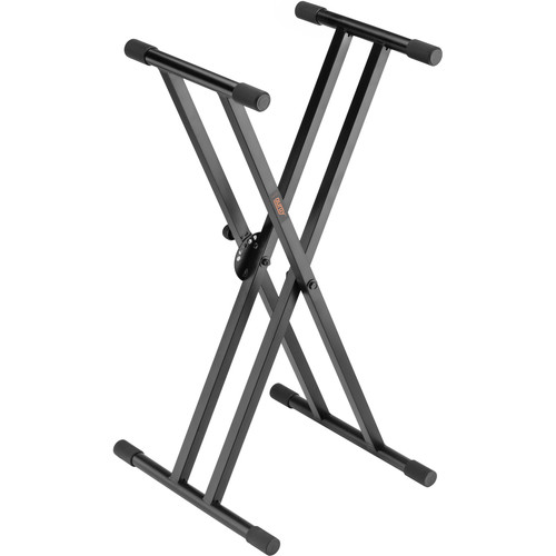 Auray KSPL-2X Double-X Keyboard Stand with Pull Lock KSPL