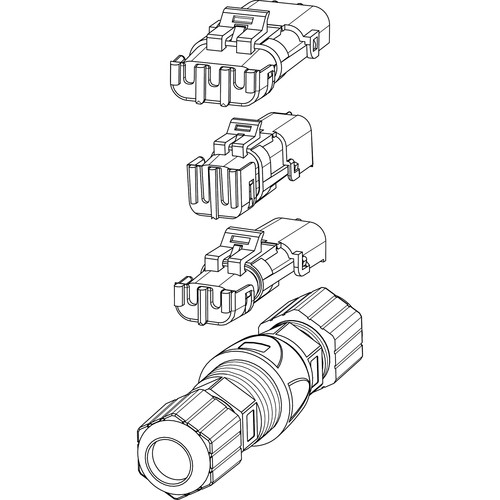 Bosch Connector Kit for Thermal MIC PTZ (5-Pack) MIC-9K