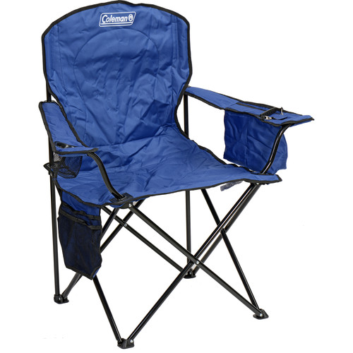Coleman Oversized Quad Chair with Cooler Blue 2000020266 BH
