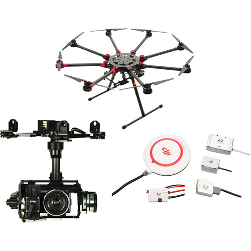 DJI Spreading Wings S1000+ with Z15-N5N Gimbal and CB.SB