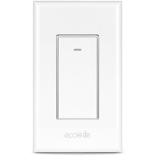 eco4life ASHS01F SmartHome Wi-Fi Light Switch ASHS01F B&H