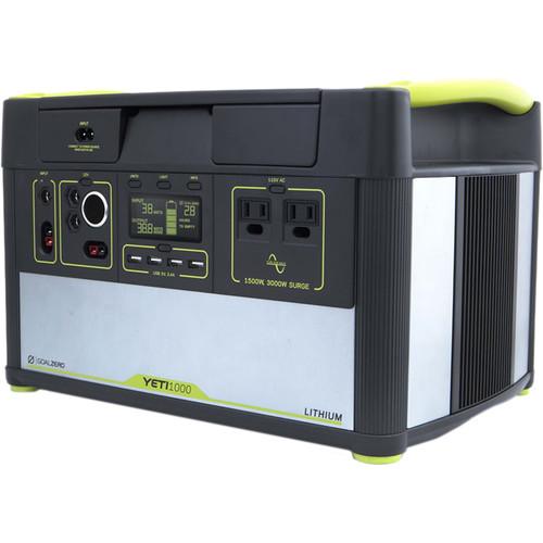 GOAL ZERO Yeti 1000 Lithium Portable Power Station 38004 B&H