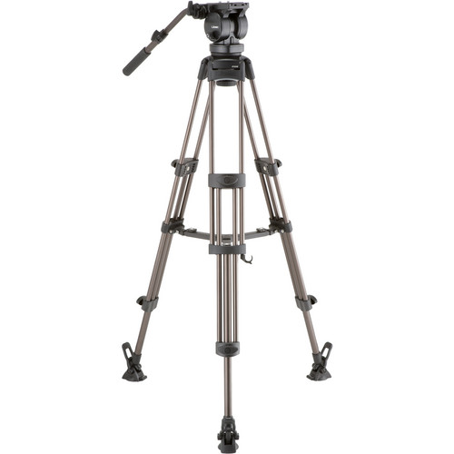 Libec LX10 M Two-Stage Aluminum Tripod System and H65B