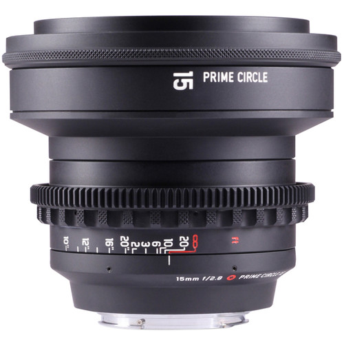 LockCircle PrimeCircle XE Series Canon EF Mount 15mm PCXE15/2.8