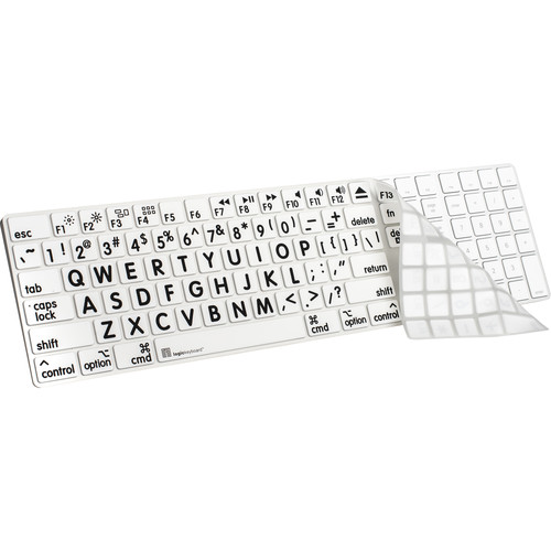 LogicKeyboard XL-Print Cover for Full-Sized LS-LPRNTBW