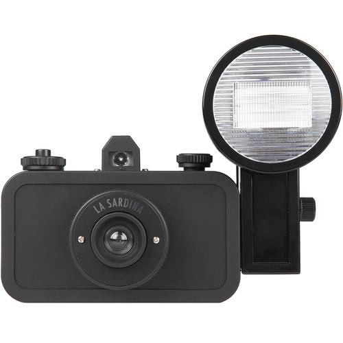 Lomography La Sardina DIY Black Edition Camera SP200DIYB B&H