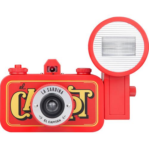 Lomography La Sardina El Capitan Camera with Flash SP200EC B&H