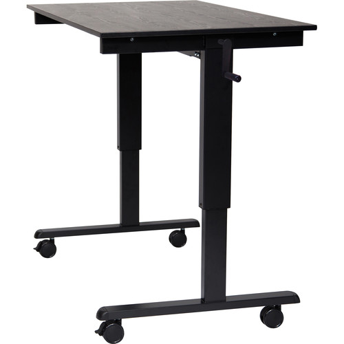 Luxor 48 Crank Adjustable StandUp Desk STANDCF48BKBO