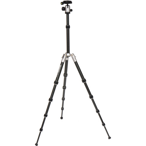 Manfrotto Element Small Aluminum Traveler Tripod MKELES5GY