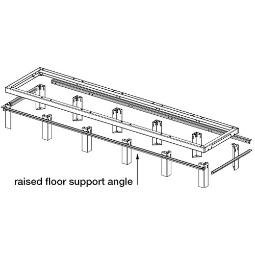Middle Atlantic SANGLE Raised Floor Support SANGLE30-3