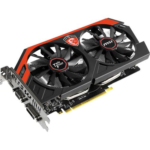MSI GeForce GTX 750 Ti Gaming Graphics Card N750TI TF 2GD5/OC