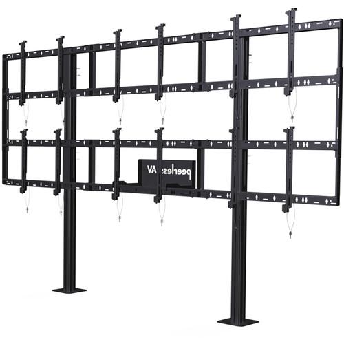 Peerless-AV Modular Video Wall Pedestal Mount for 46 DS