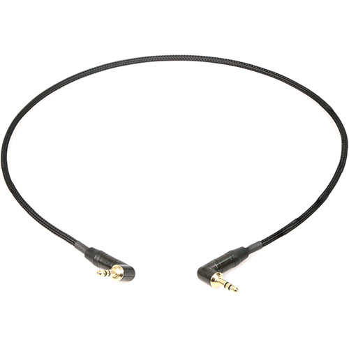 Remote Audio Stereo Jumper Cable 3.5mm Right Angle TRS CA1