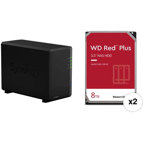Synology DiskStation 16TB DS218play 2-Bay NAS Enclosure Kit B&H