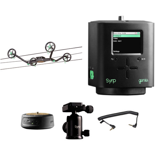 Syrp Slingshot Motion Control Track & Pan Kit 0023-2AXIS-KT
