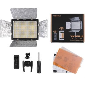 Yongnuo 300-III LED Variable-Color On-Camera Light