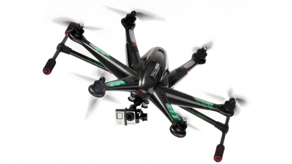 Unveiled: Walkera TALI H500 Hexacopter with 3-Axis Gimbal