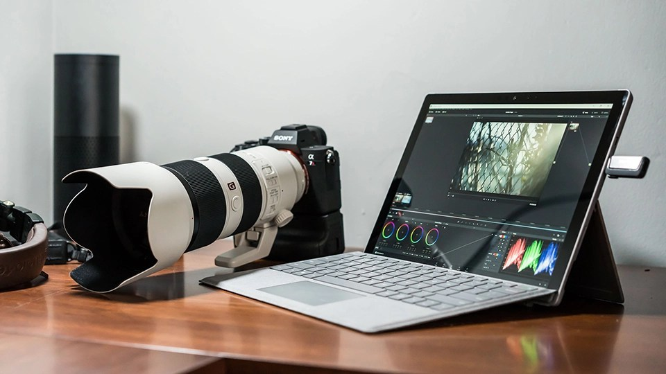 Microsoft Surface Pro an Ideal Mobile Video Editing