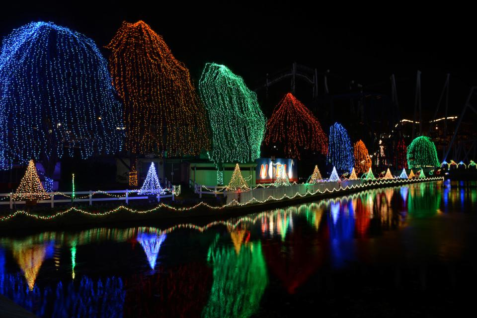 noel lights at hershey park - Hershey Christmas Lights