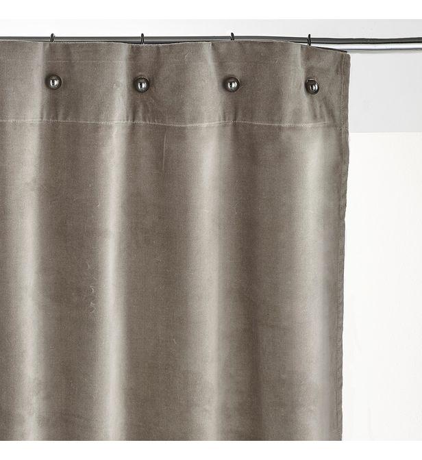 rideau velours petits œillets lavezzi