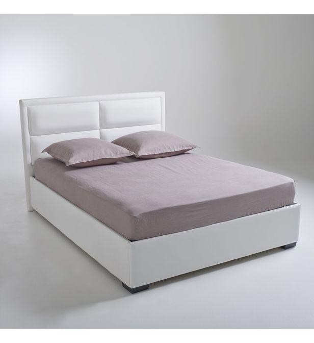 lit coffre avec sommier relevable blax