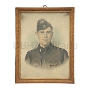 Portret SS mann - Zur Erinnerung an Ede 1942