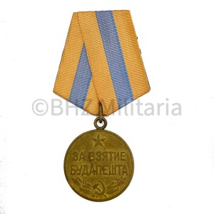 Medal for the Capture of Budapest