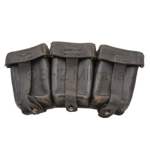 K98 Ammunition Pouch Lederwarenwerke Curt Vogel Cottbus 1942