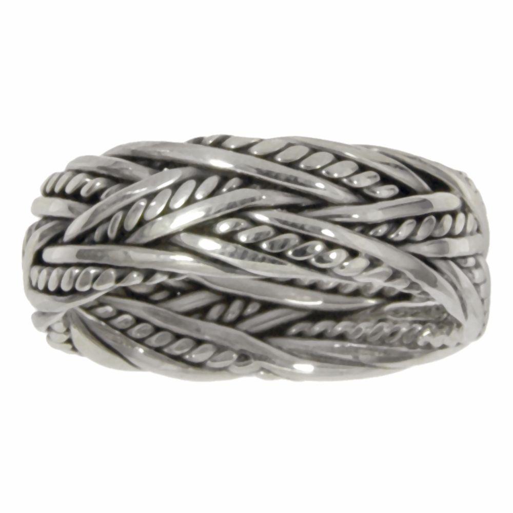 Bijouteria Fingerring sri190 Tribal Silberringe