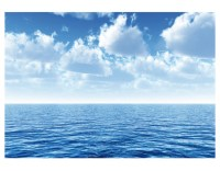 Photo Wall Mural SILENT OCEAN 400x280 wall decor Wallpaper ...